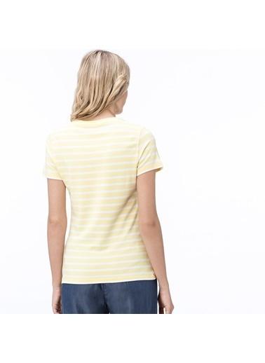 Lacoste Kadın  Tişört TF0823.23S Sarı